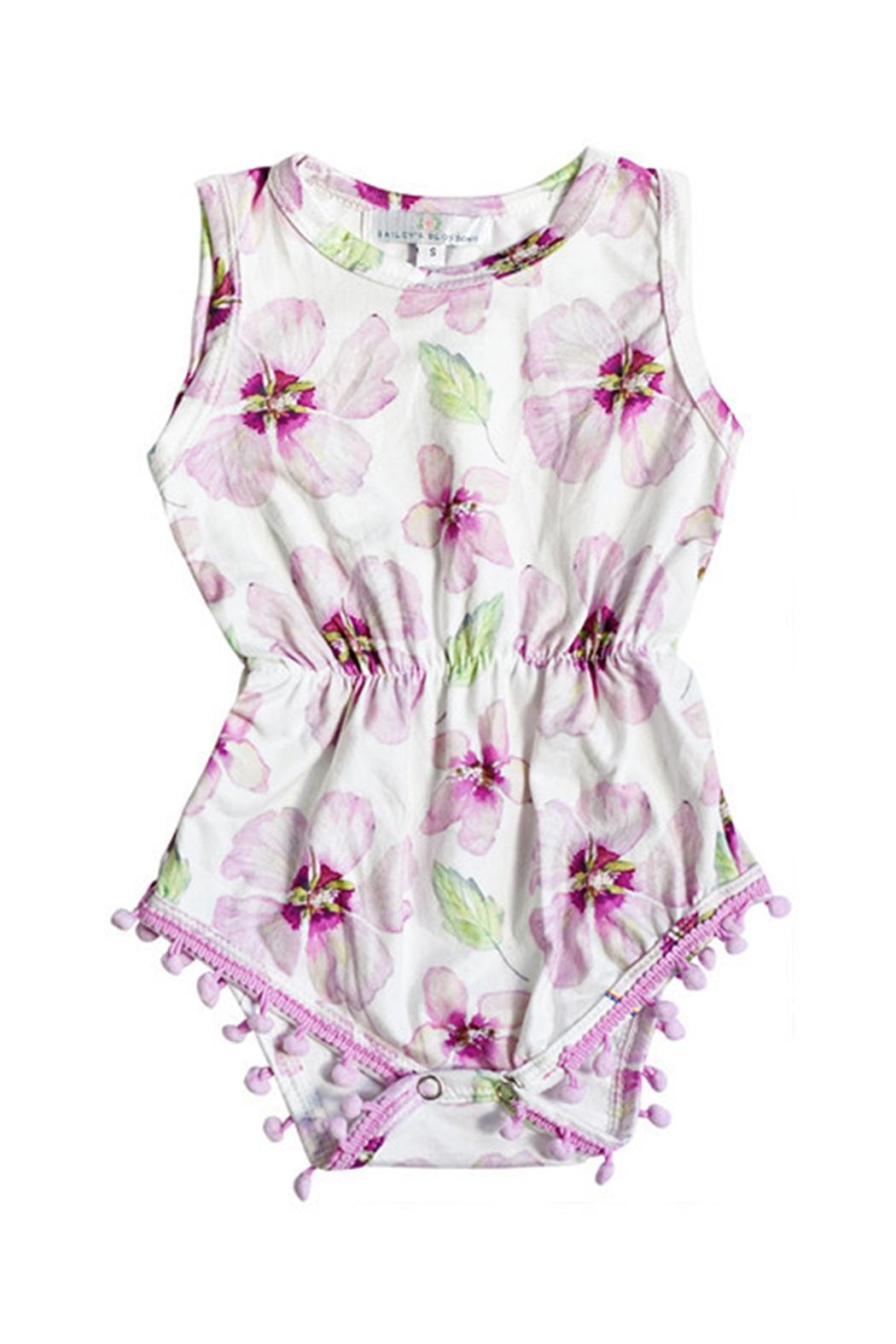 60fb3bcd2 Bailey s Blossoms Nora Pompom Romper from California by Ollie N ...