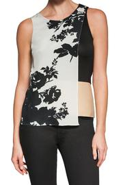 Bailey 44 Fitted Sleeveless Leather - Product Mini Image
