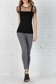 Bailey 44 Barre Sheer Top - Front full body