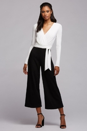 Bailey 44 Black & White Jumpsuit - Product Mini Image