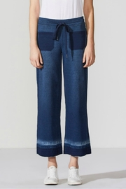 Bailey 44 Denim-Inspired Cropped Sweatpants - Product Mini Image
