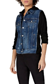 Bailey 44 Denim Terry Jacket - Front cropped