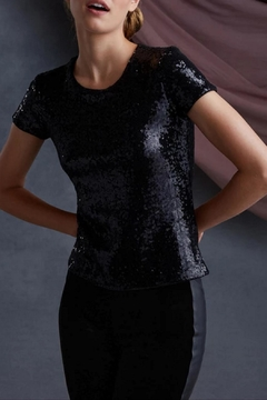 Bailey 44 Edie Sequin Top - Product List Image