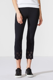 Bailey 44 Eyelet Ponte Pant - Product Mini Image