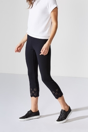 Bailey 44 Eyelet Ponte Pant - Front full body