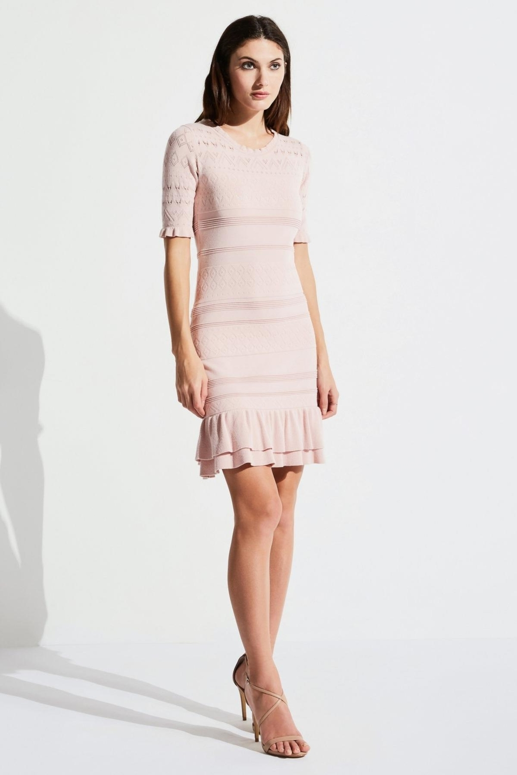 Bailey 44 Feminine Knit Dress - Front Cropped Image