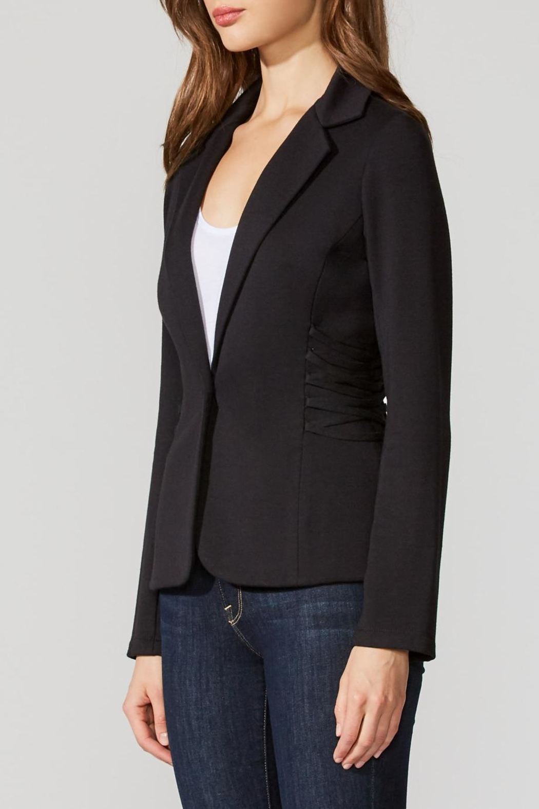 Bailey 44 Fleece Fitted Blazer - Front Full Image