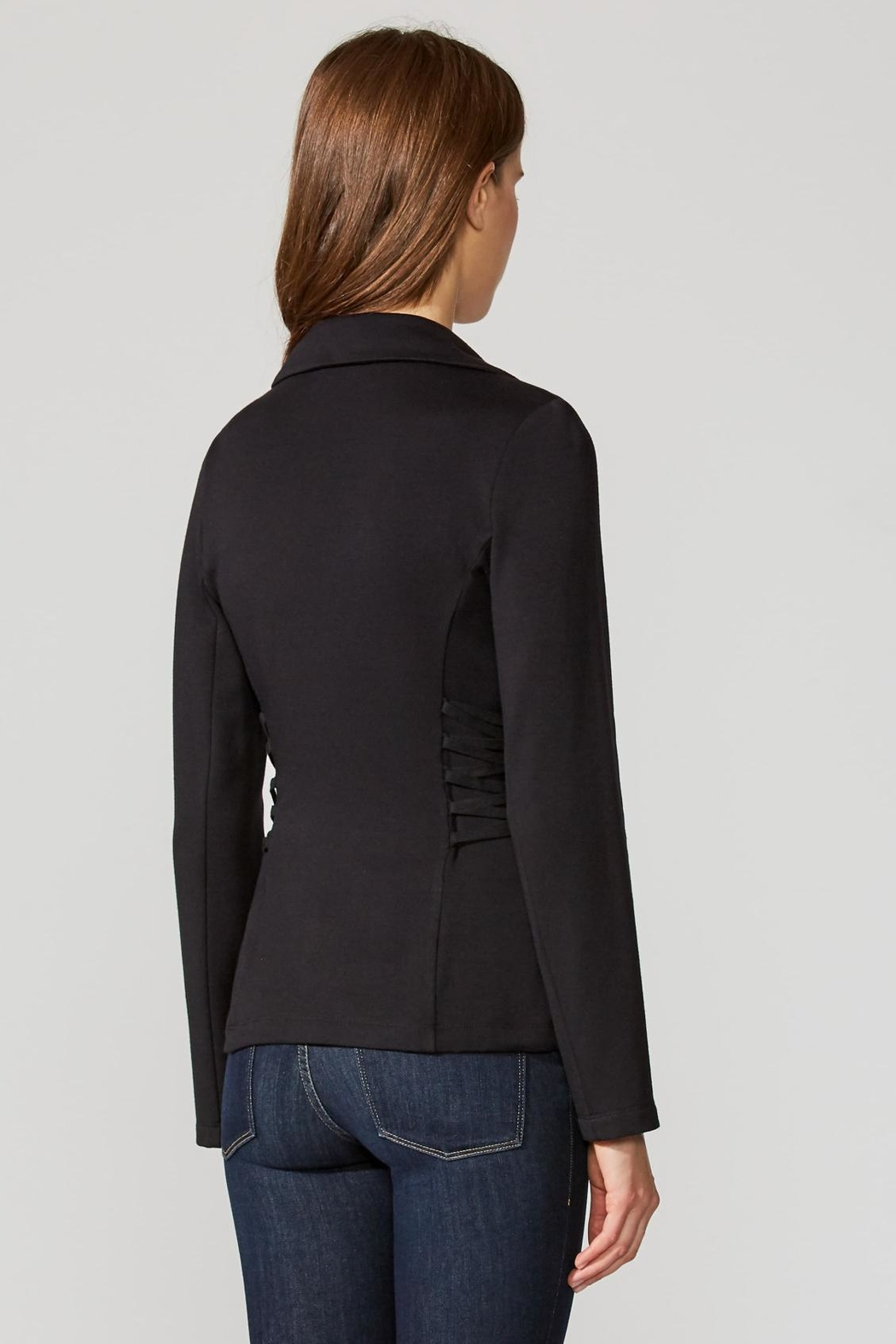 Bailey 44 Fleece Fitted Blazer - Side Cropped Image