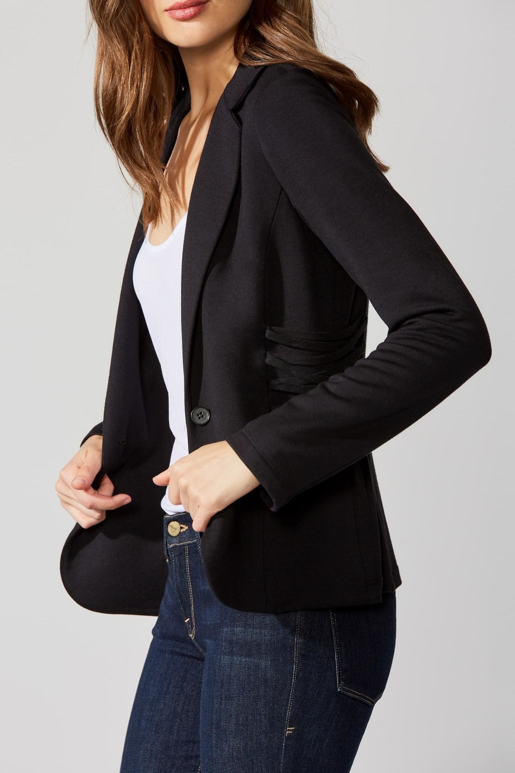 Bailey 44 Fleece Fitted Blazer - Main Image