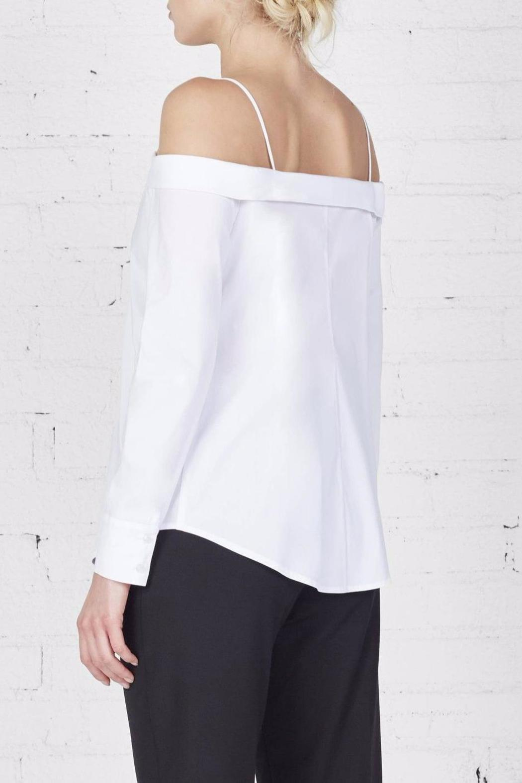 Bailey 44 Off The Shoulder Button Up - Side Cropped Image