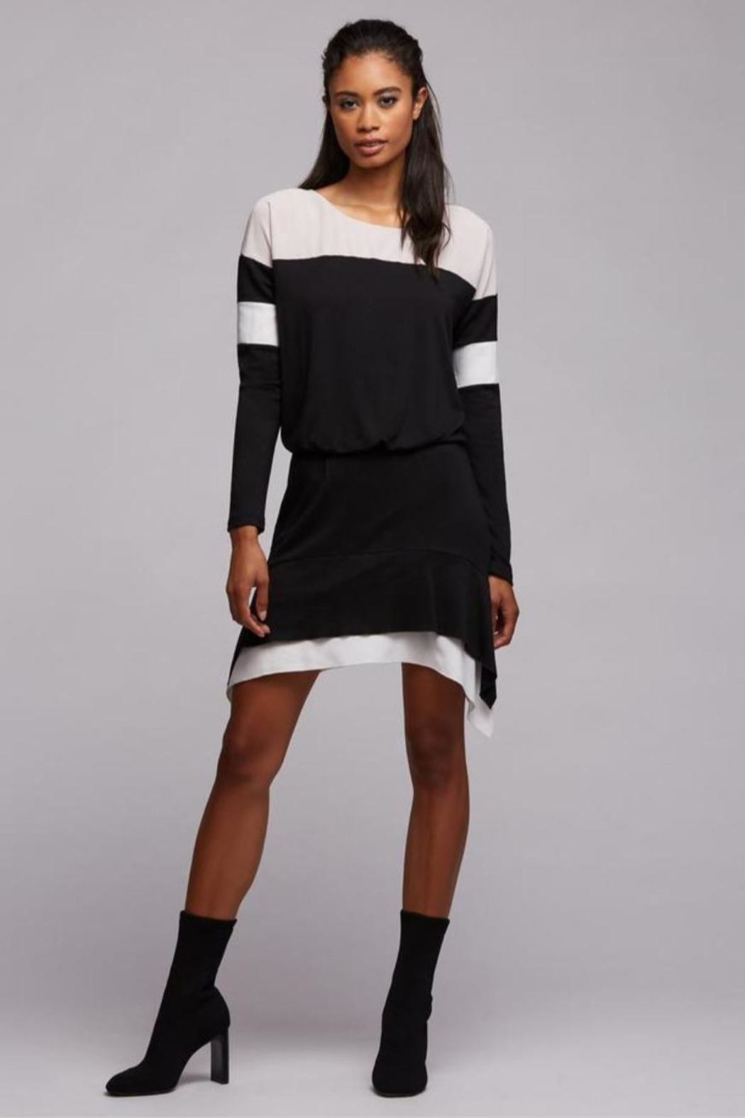 Bailey 44 Harper Asymmetric Dess - Front Cropped Image