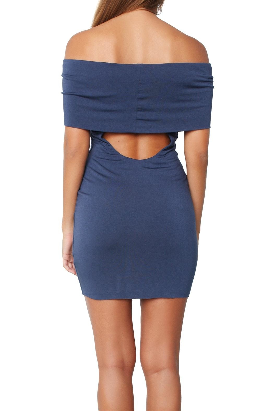 Bailey 44 Hot-Diggin Blue Dress - Back Cropped Image