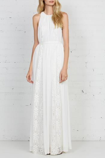 Shoptiques Product: Lace Maxi Dress - main