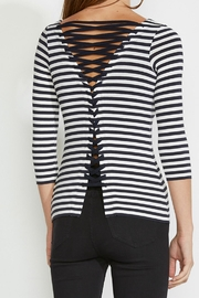 Bailey 44 Lace Up Top - Front full body