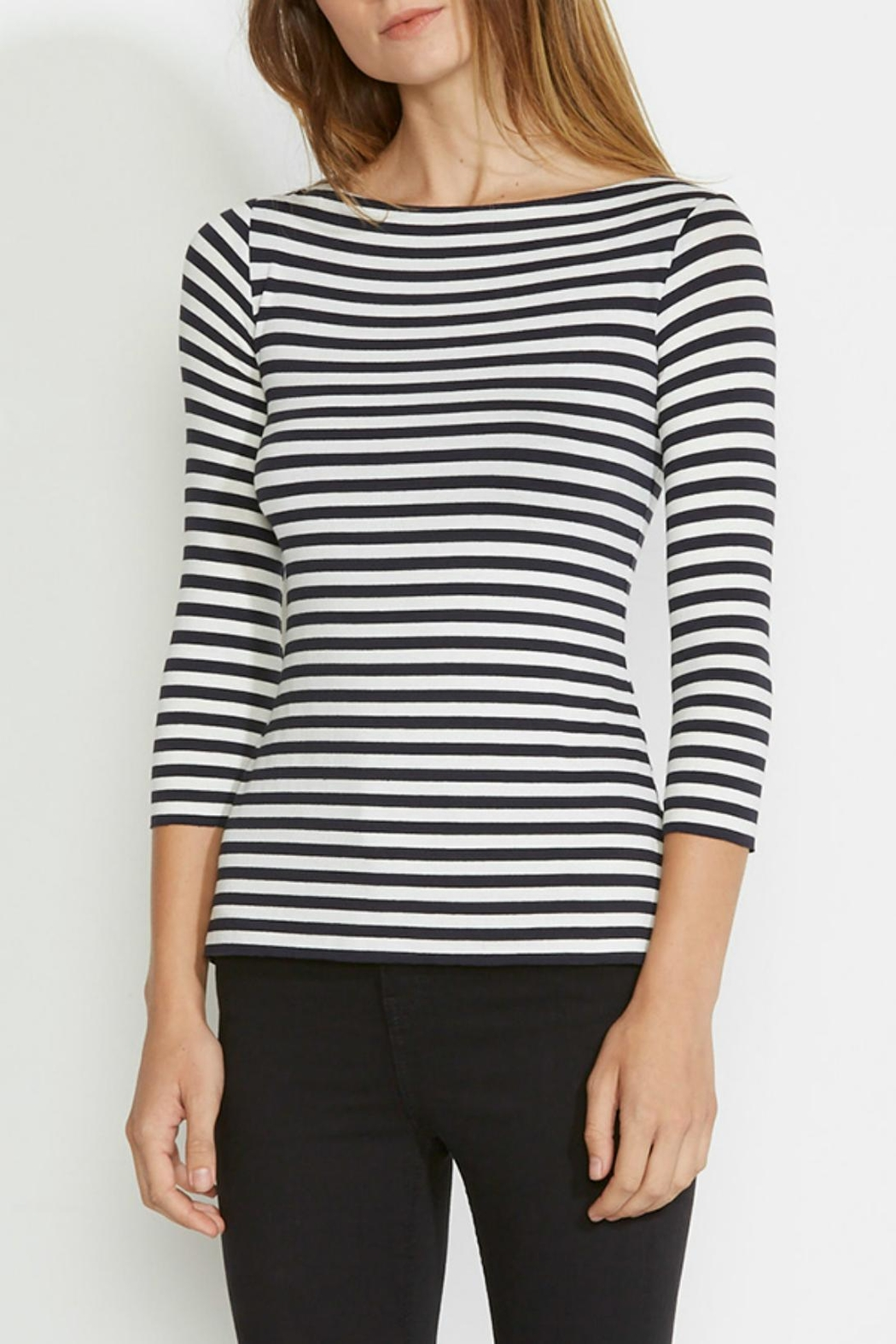 Bailey 44 Lace Up Top - Main Image