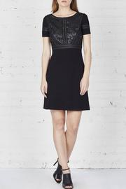 Bailey 44 Leather Embroidered Dress - Product Mini Image