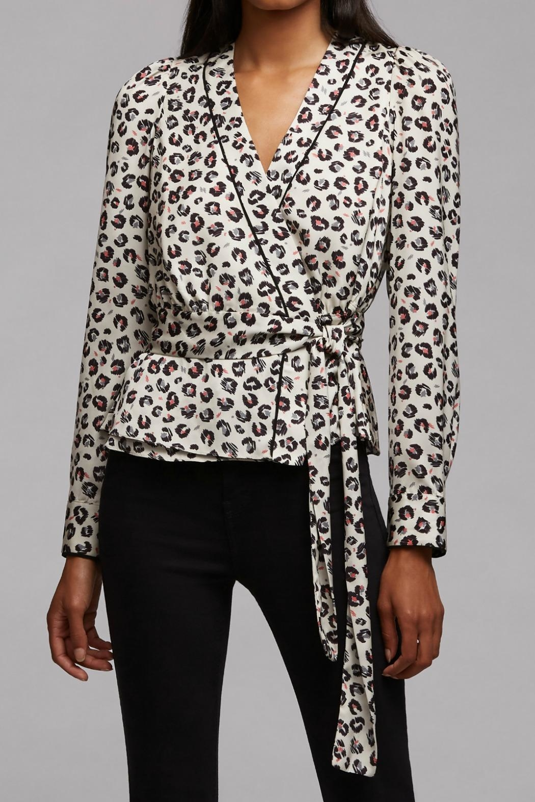 Bailey 44 Marguerite Leopard Top - Front Cropped Image