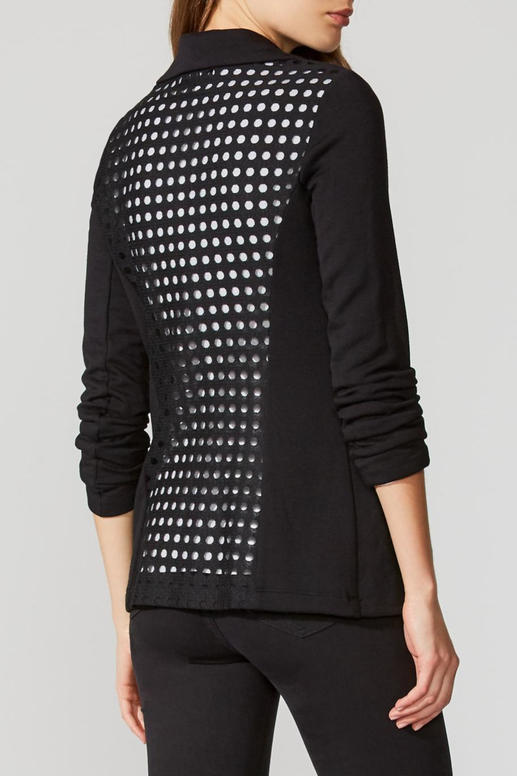 Bailey 44 Perforated Back Jacket - Side Cropped Image