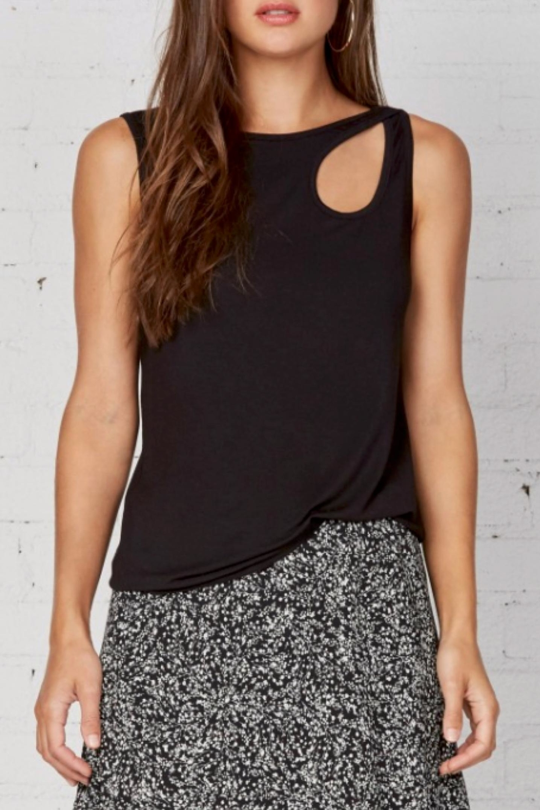 Bailey 44 Plaintain Sleeveless Top - Front Cropped Image