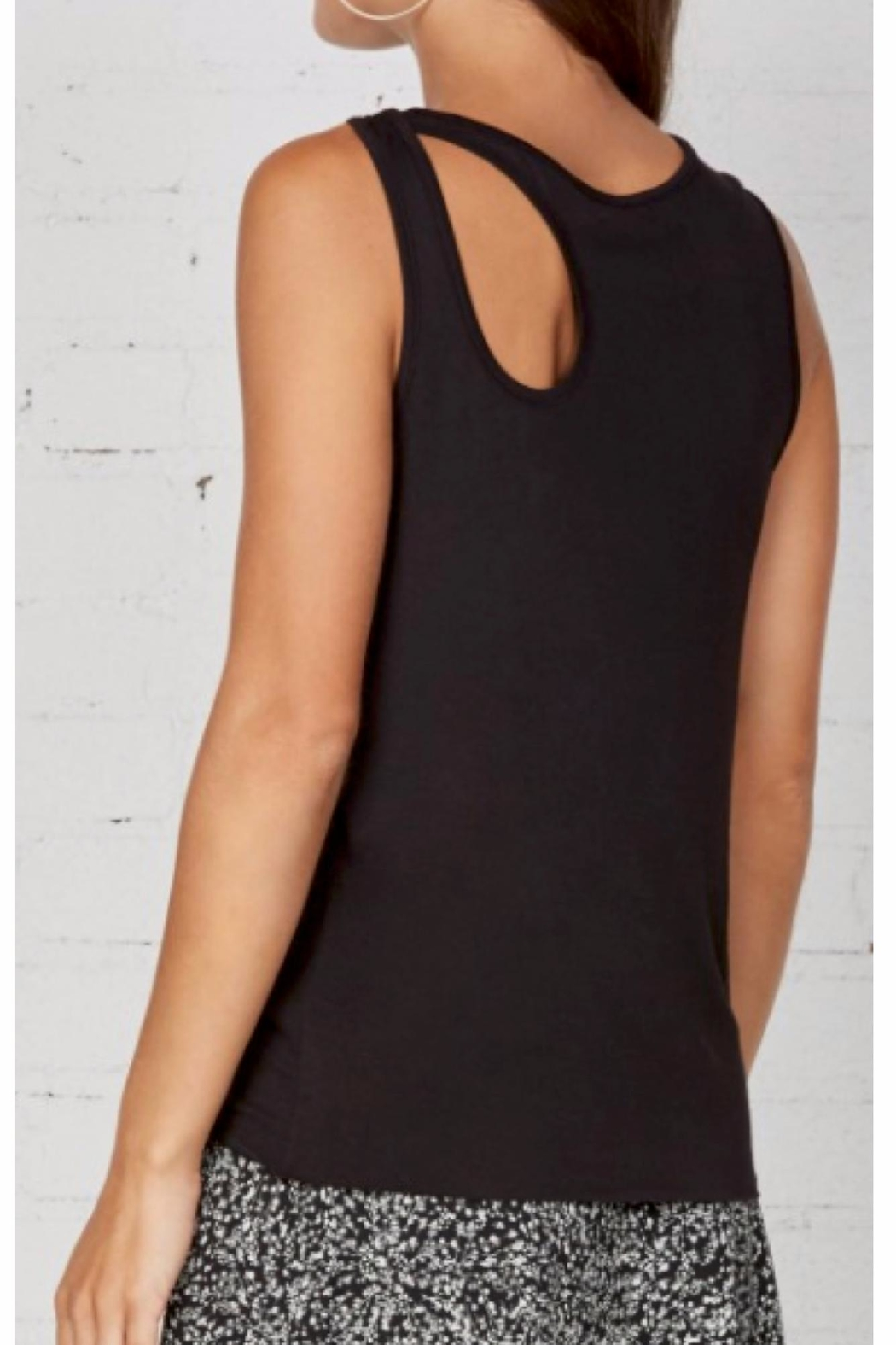 Bailey 44 Plaintain Sleeveless Top - Front Full Image