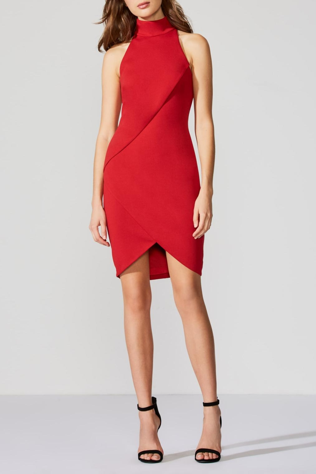 Bailey 44 Ponte Red Dress - Main Image