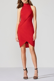 Bailey 44 Ponte Red Dress - Front cropped
