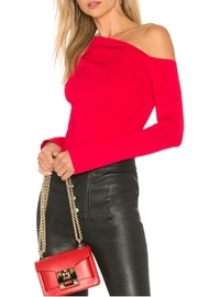 Bailey 44 Red Origami Top - Product Mini Image