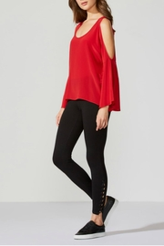 Bailey 44 Red Silk Top - Product Mini Image