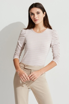 Bailey 44 Ruched Sleeve Top - Product List Image