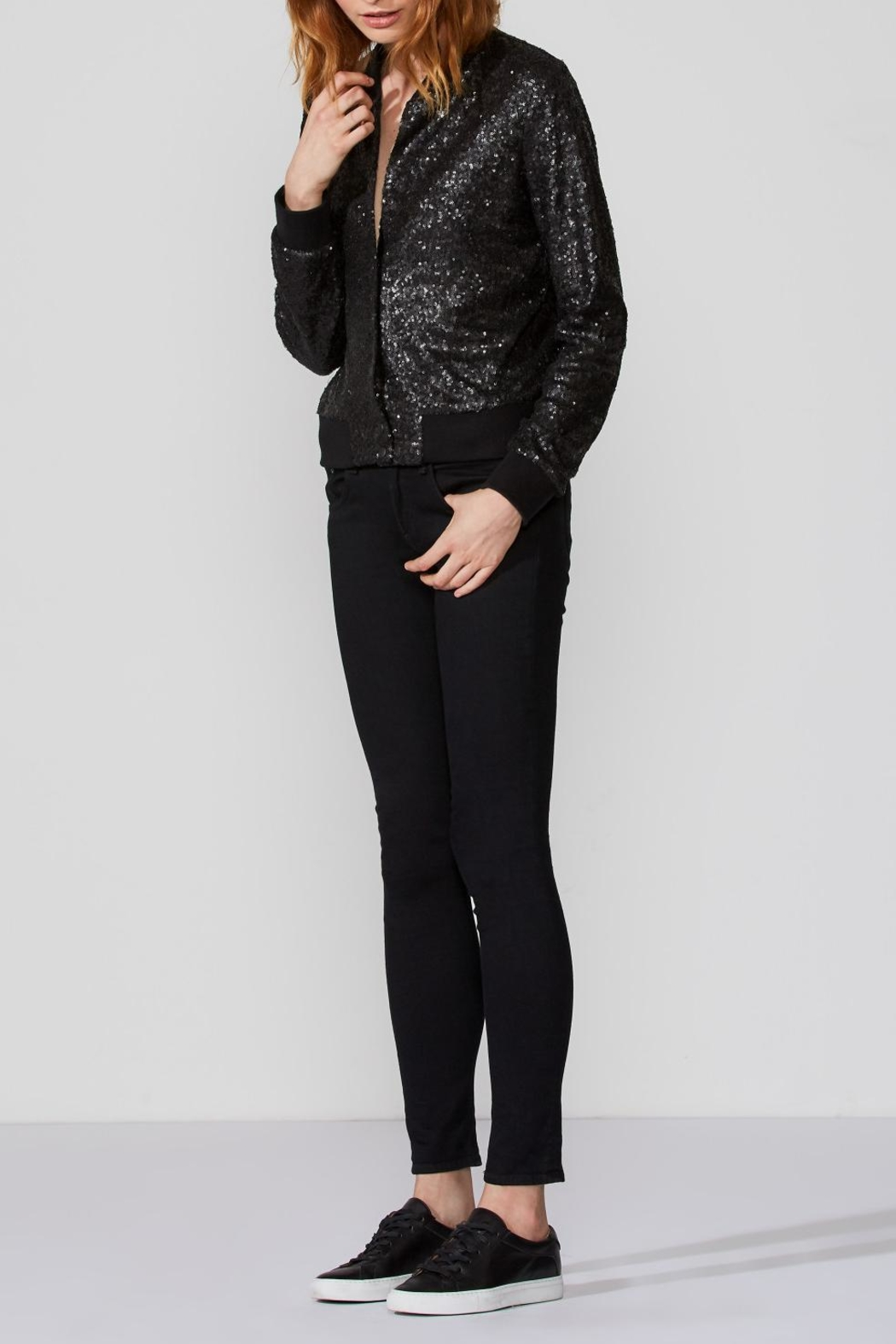 Bailey 44 Sequin Bomber Jacket - Front Full Image