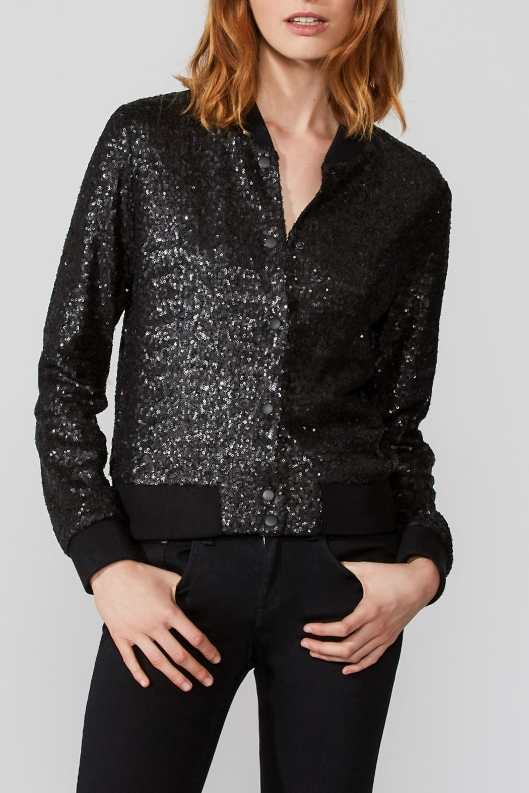 Bailey 44 Sequin Bomber Jacket - Main Image