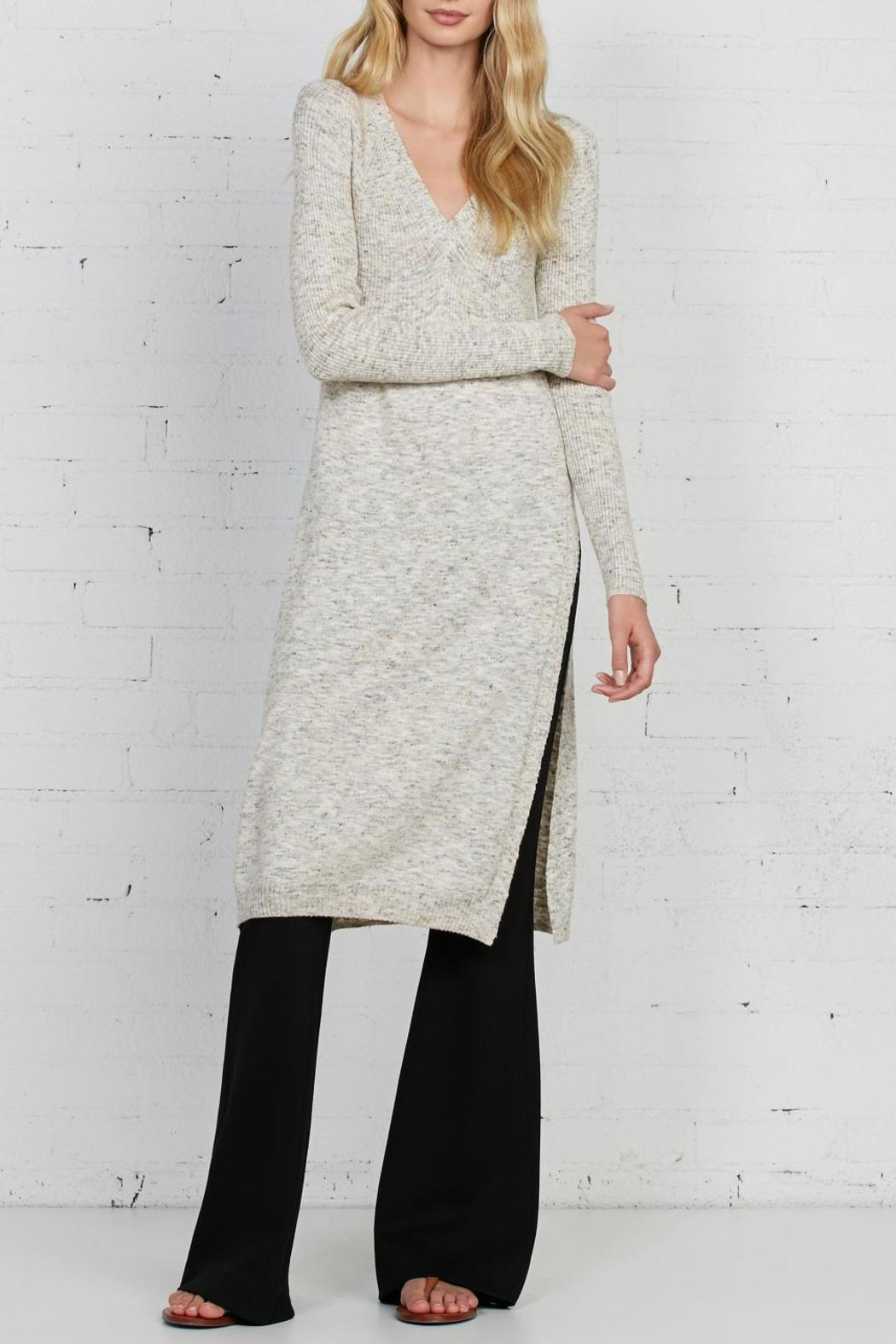 Bailey 44 Side-Slit Knit Tunic - Front Cropped Image
