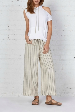Shoptiques Product: Stripe Linen Pant