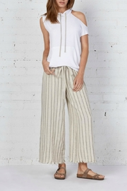 Bailey 44 Stripe Linen Pant - Product Mini Image