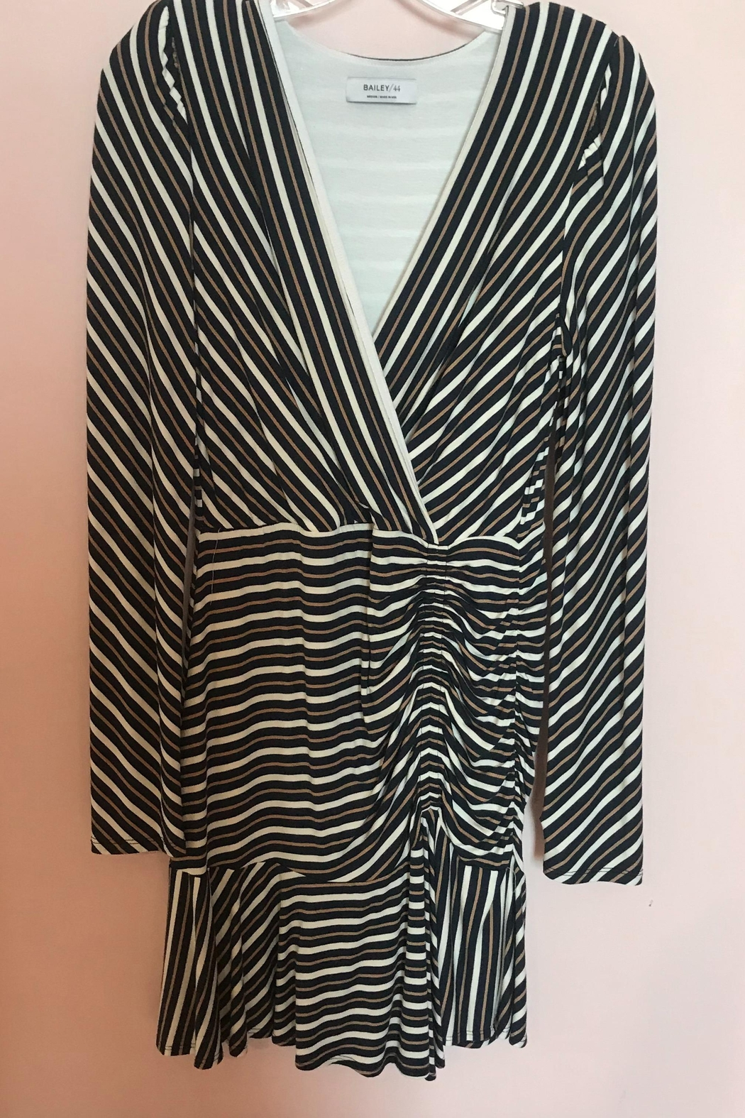 Bailey 44 Striped Ruched Dress - Main Image