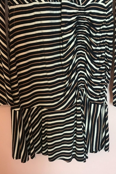 Bailey 44 Striped Ruched Dress - Alternate List Image