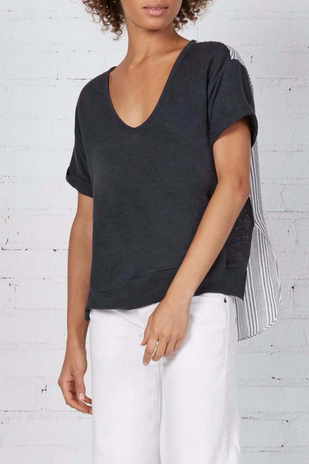 Bailey 44 Tanta V-neck Top - Side Cropped Image
