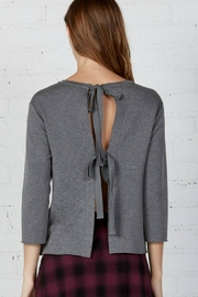 Bailey 44 Tie Back Sweater - Front full body