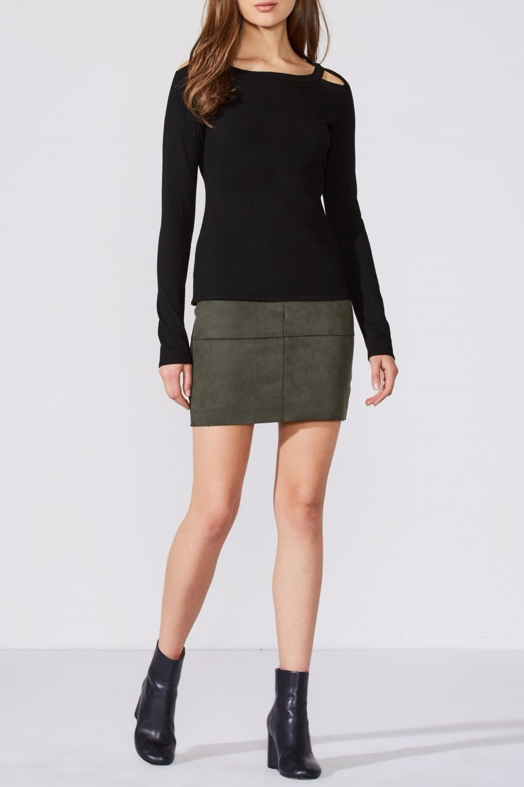 Bailey 44 Whistle Skirt - Back Cropped Image