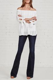 Bailey 44 Yarrow White Top - Back cropped