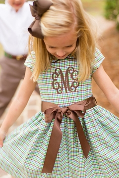 Bailey Boys Acorn Plaid Empire-Dress - Product List Image