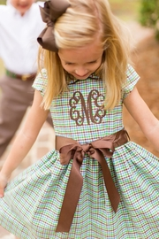 Bailey Boys Acorn Plaid Empire-Dress - Product Mini Image