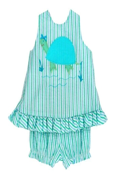 Bailey Boys Angel Dress With-Bloomer - Product List Image
