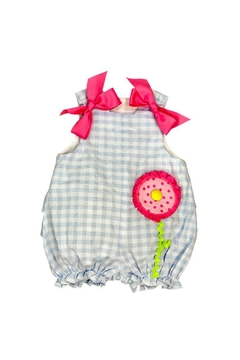Shoptiques Product: Big Flower Bubble Onesie
