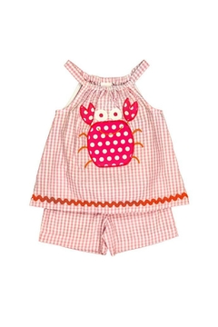 Shoptiques Product: Pink Baby Top Set