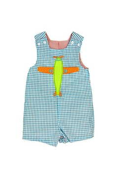 Bailey Boys Fish Reversible Onesie - Alternate List Image