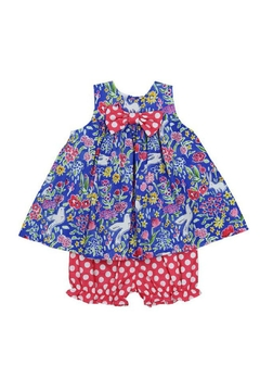 Bailey Boys Flowers Float Bloomer Dress - Product List Image