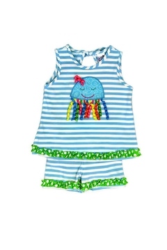 Bailey Boys Jiggling Jellyfish Short Set - Product List Image