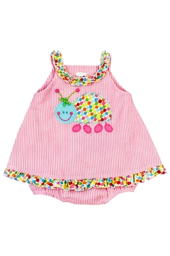 Bailey Boys Ladybug Seersucker Dress/bubble - Alternate List Image
