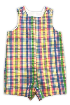 Bailey Boys Pastel Plaid John-John-Short - Product List Image